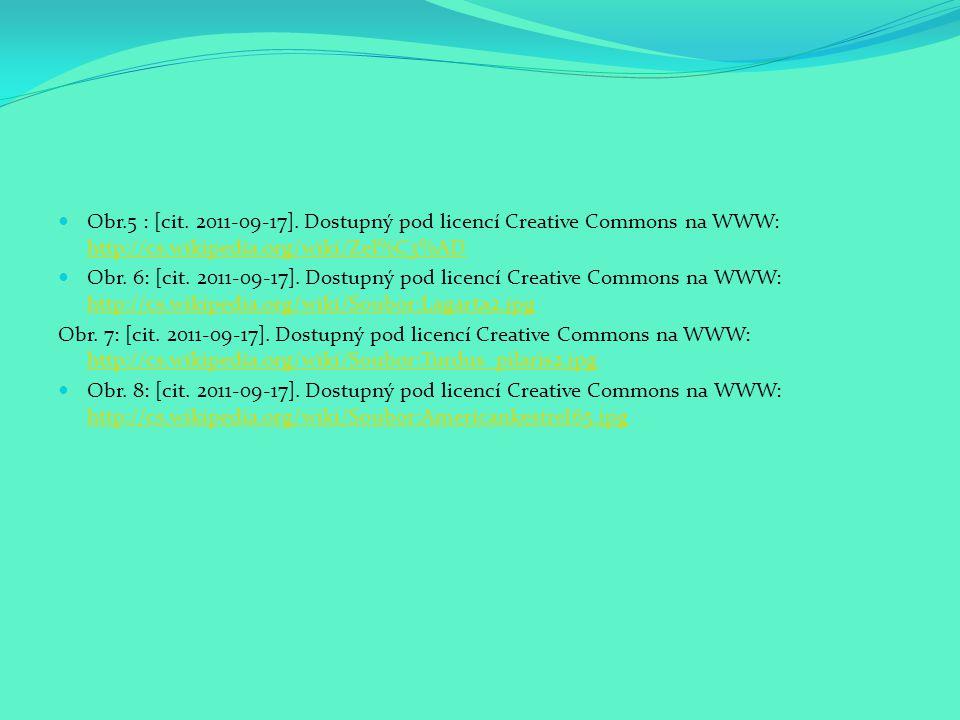 Obr.5 : [cit. 2011-09-17]. Dostupný pod licencí Creative Commons na WWW: http://cs.wikipedia.org/wiki/Zel%C3%AD